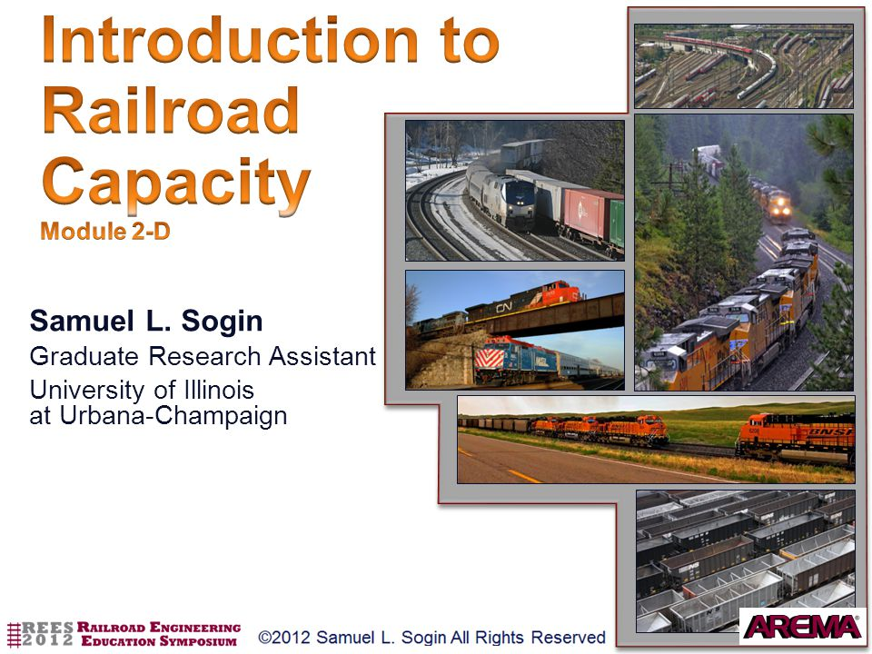 Introduction to Railroad Capacity Module 2-D