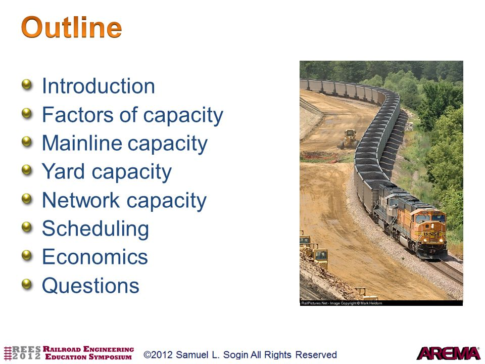 Outline Introduction Factors of capacity Mainline capacity
