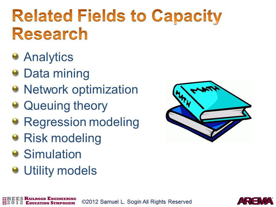 Related Fields to Capacity Research