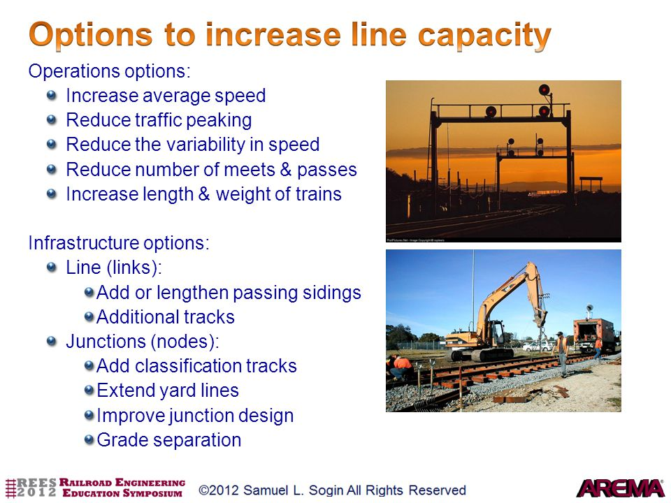 Options to increase line capacity