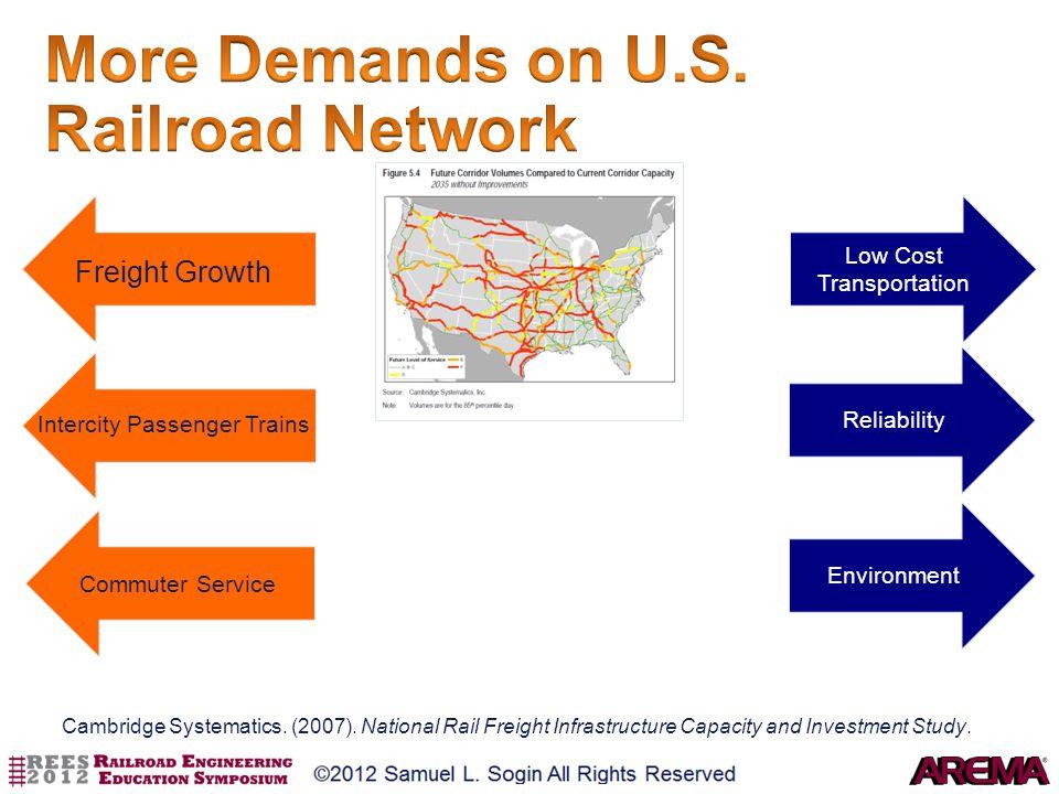 More Demands on U.S. Railroad Network