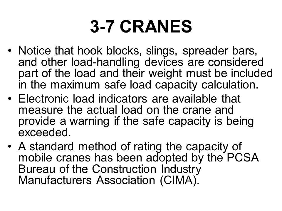 3-7 CRANES