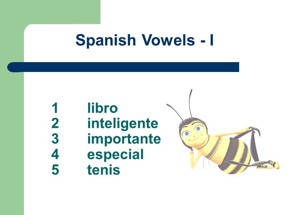1 libro 2 inteligente 3 importante 4 especial 5 tenis