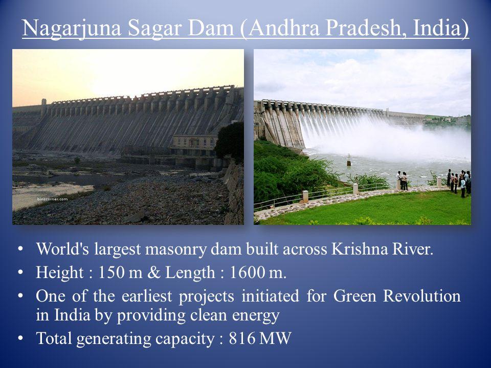 Nagarjuna Sagar Dam (Andhra Pradesh, India)