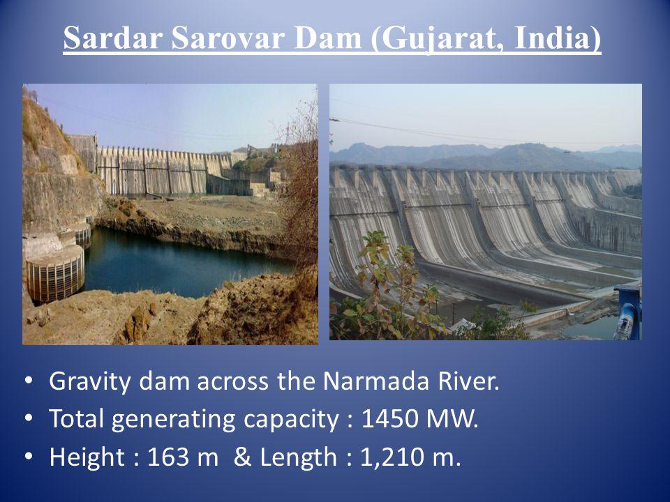 Sardar Sarovar Dam (Gujarat, India)