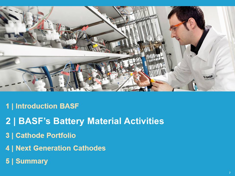 2 | BASF's Battery Material Activities