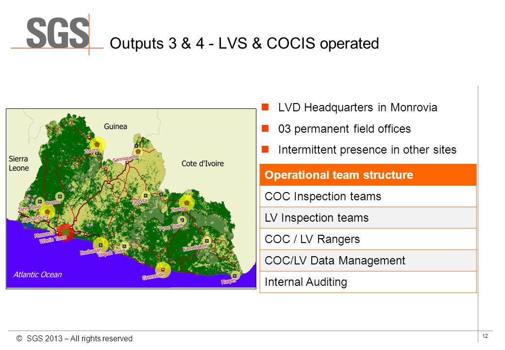 Outputs 3 & 4 - LVS & COCIS operated