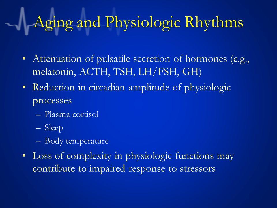 Aging and Physiologic Rhythms