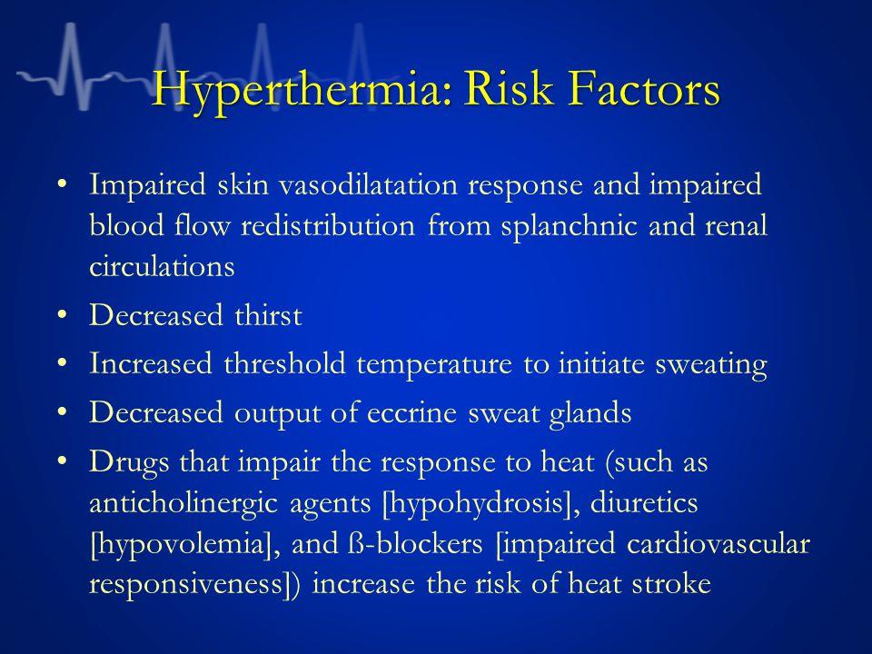 Hyperthermia: Risk Factors
