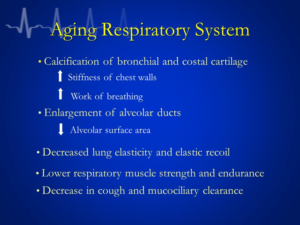 Aging Respiratory System