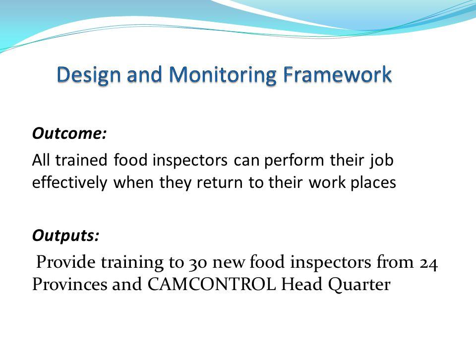 Design and Monitoring Framework