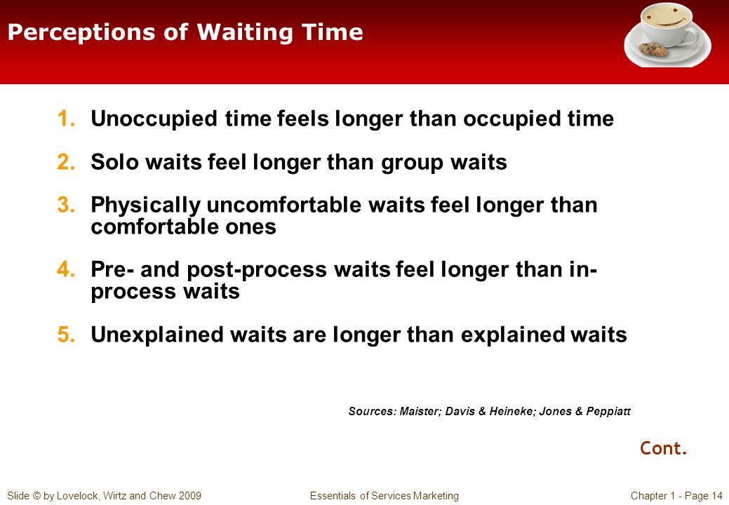 Perceptions of Waiting Time