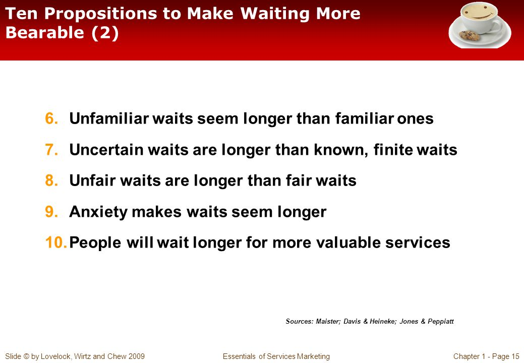 Ten Propositions to Make Waiting More Bearable (2)