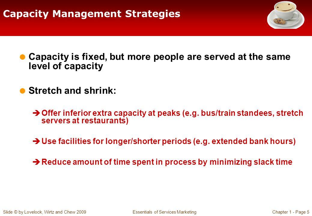Capacity Management Strategies