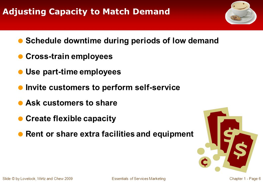 Adjusting Capacity to Match Demand