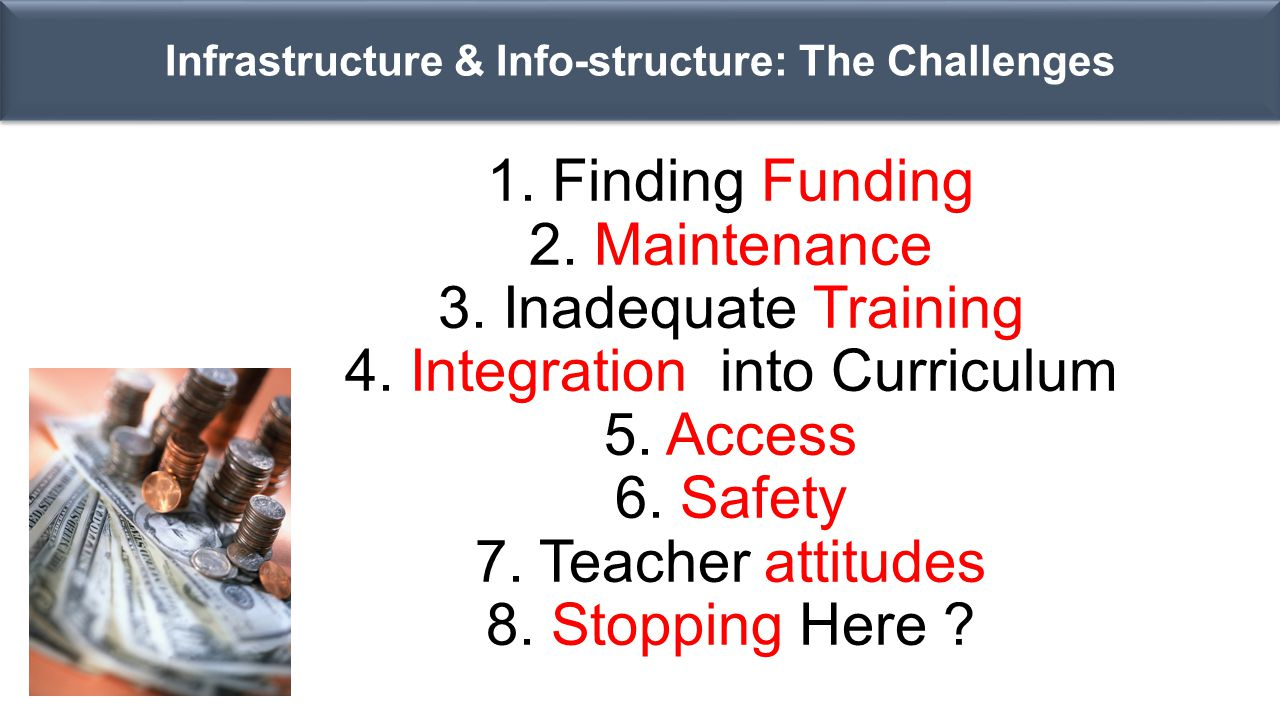 Infrastructure & Info-structure: The Challenges