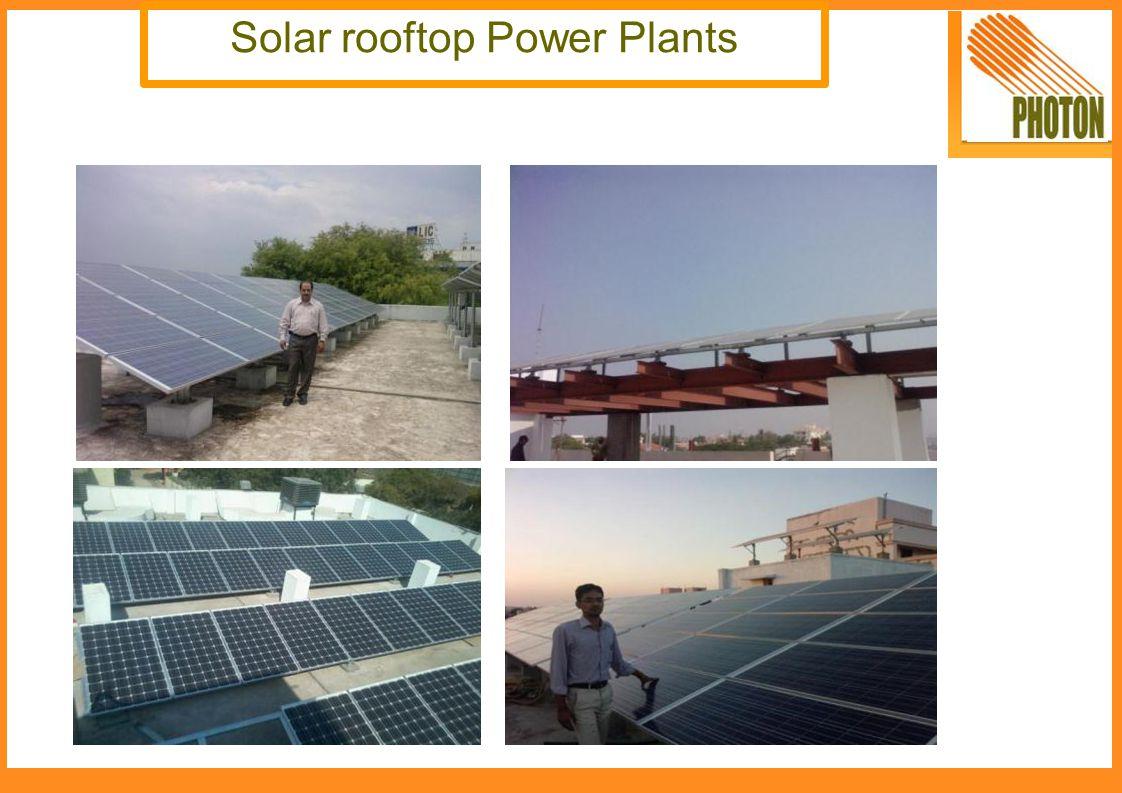 Solar rooftop Power Plants