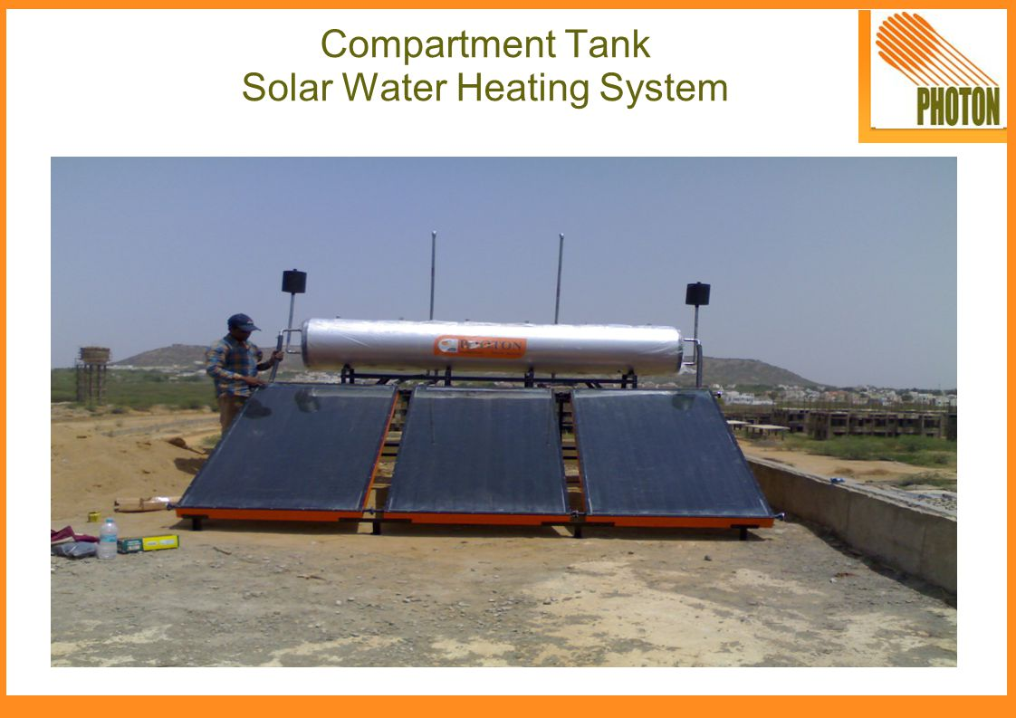Compartment Tank Solar Water Heating System