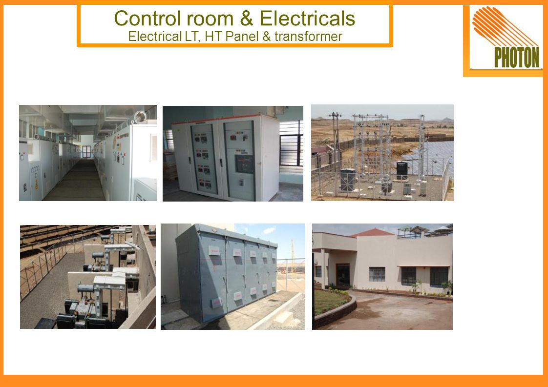 Control room & Electricals