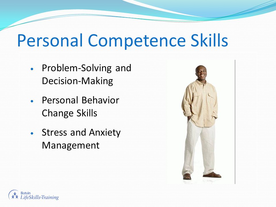 Personal Competence Skills