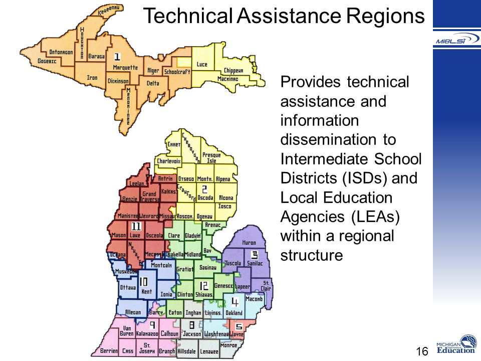 Technical Assistance Regions
