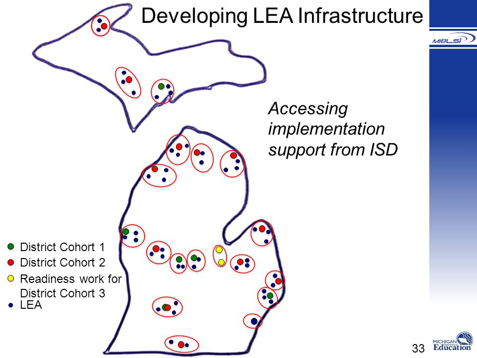 Developing LEA Infrastructure