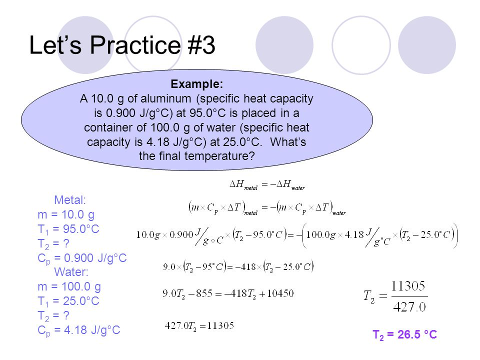 Let's Practice #3 Example: