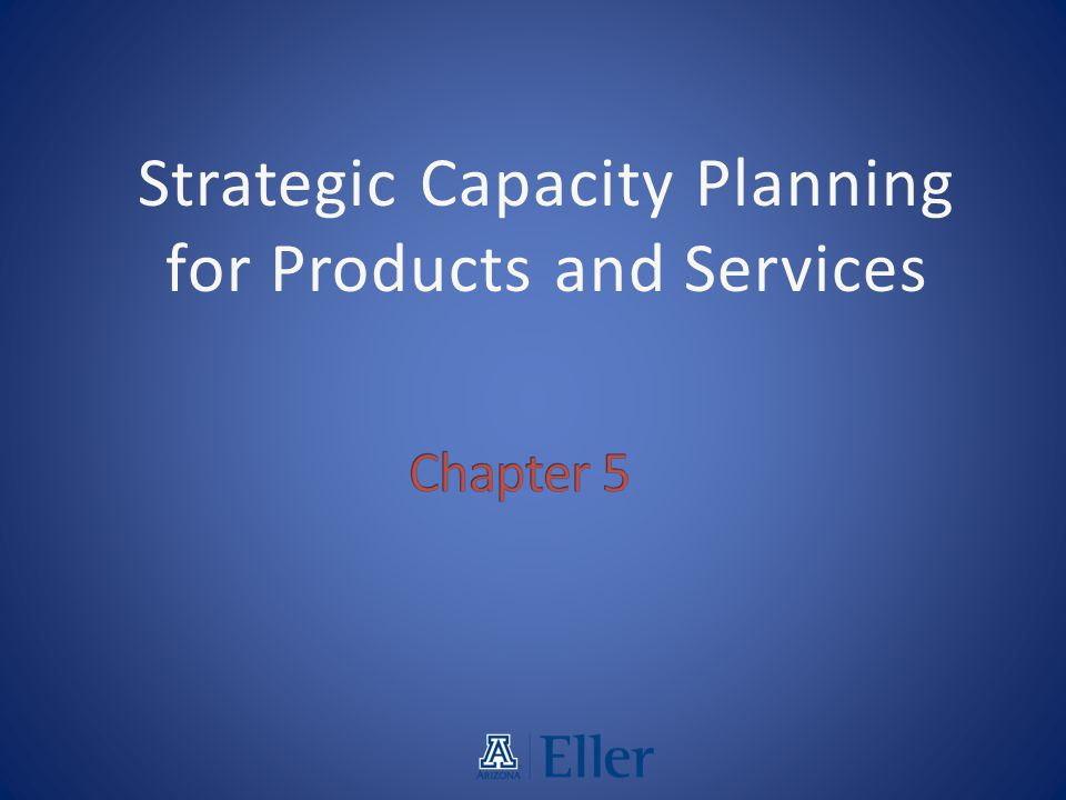 capacity strategy at alden products inc