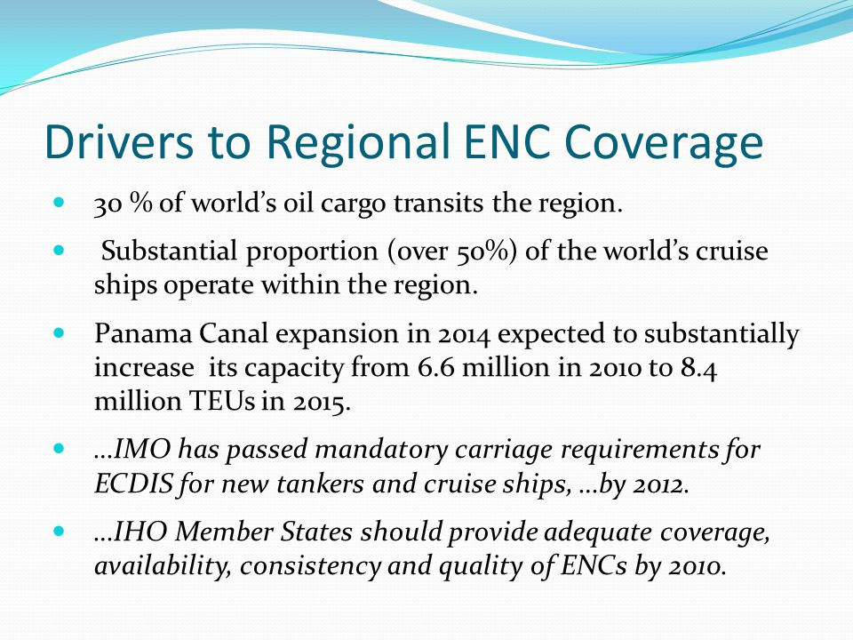Drivers to Regional ENC Coverage