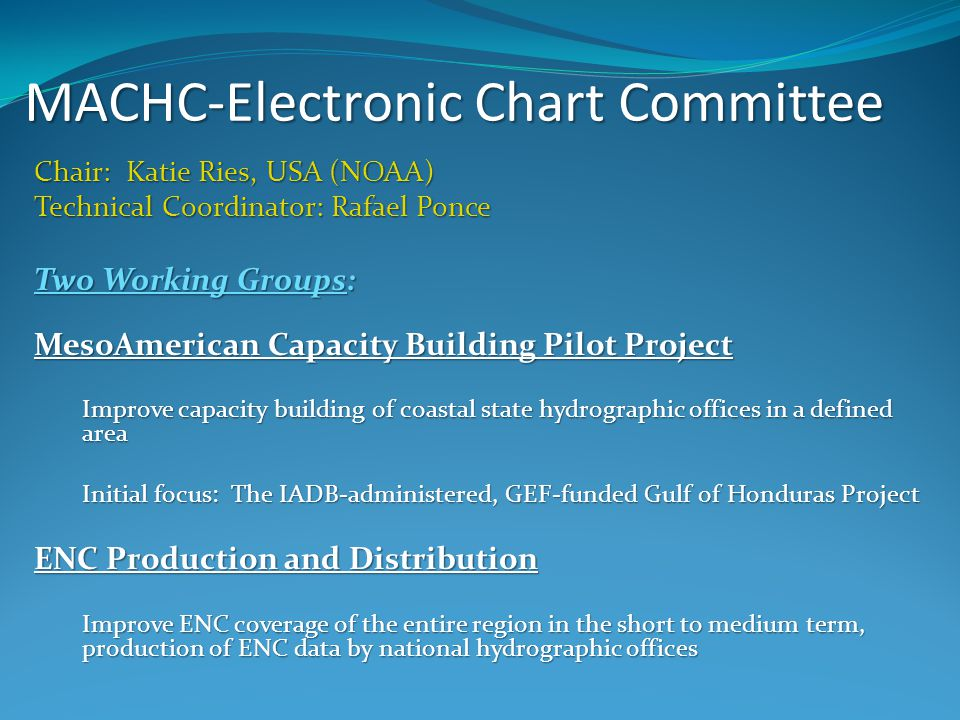 MACHC-Electronic Chart Committee