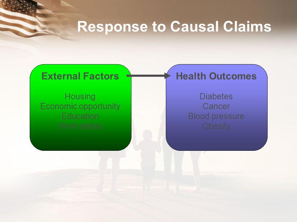 Response to Causal Claims