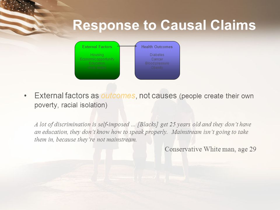 Response to Causal Claims
