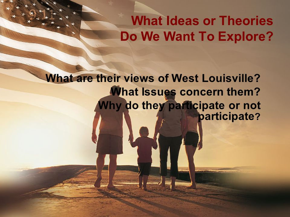 What Ideas or Theories Do We Want To Explore