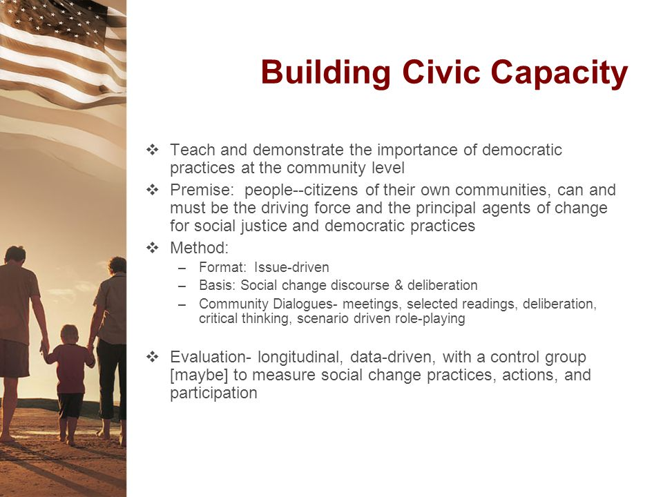 Building Civic Capacity