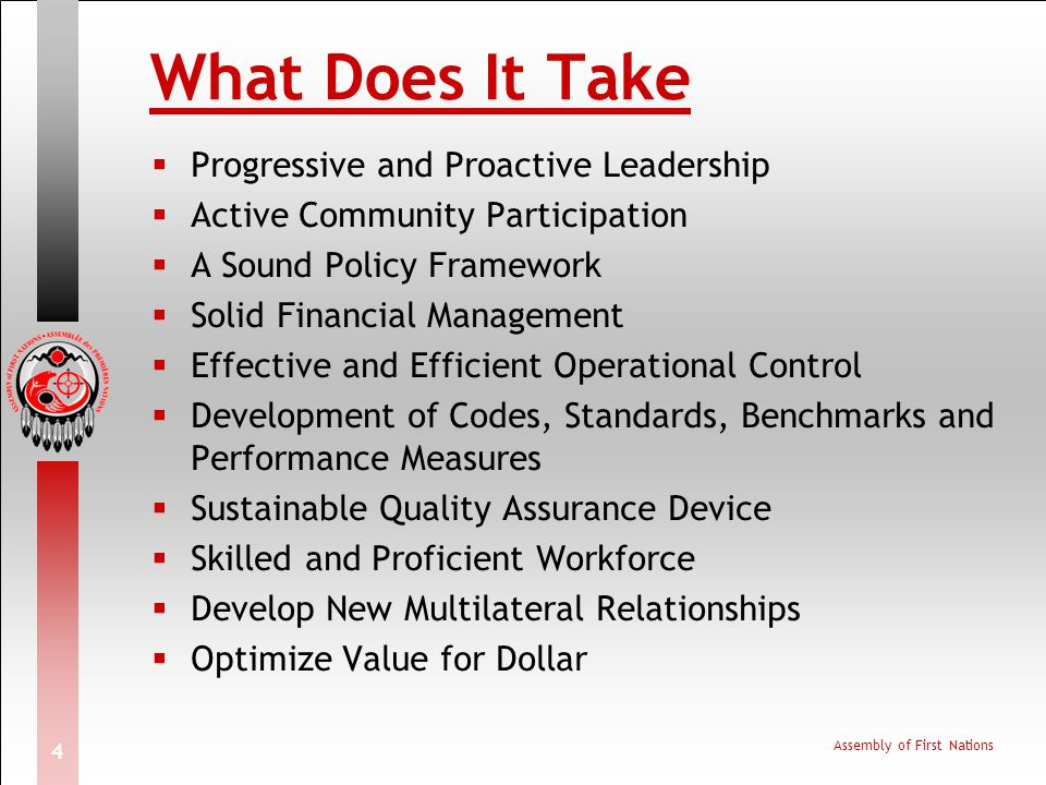 What Does It Take Progressive and Proactive Leadership