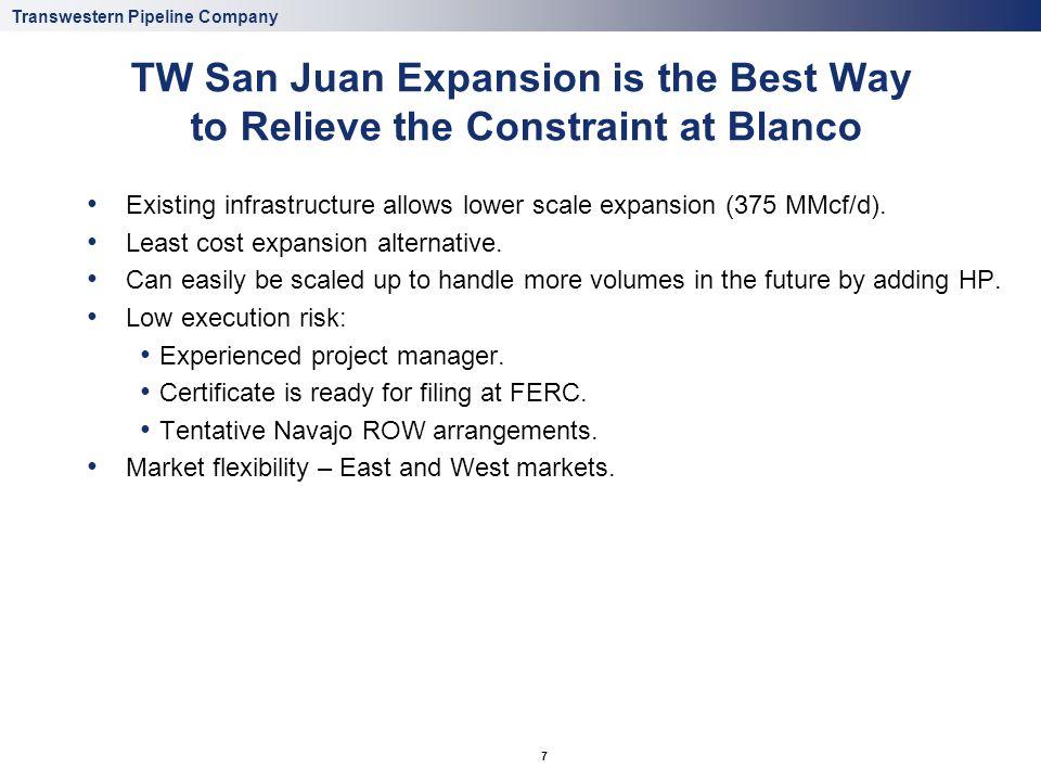 Proposed San Juan Expansion