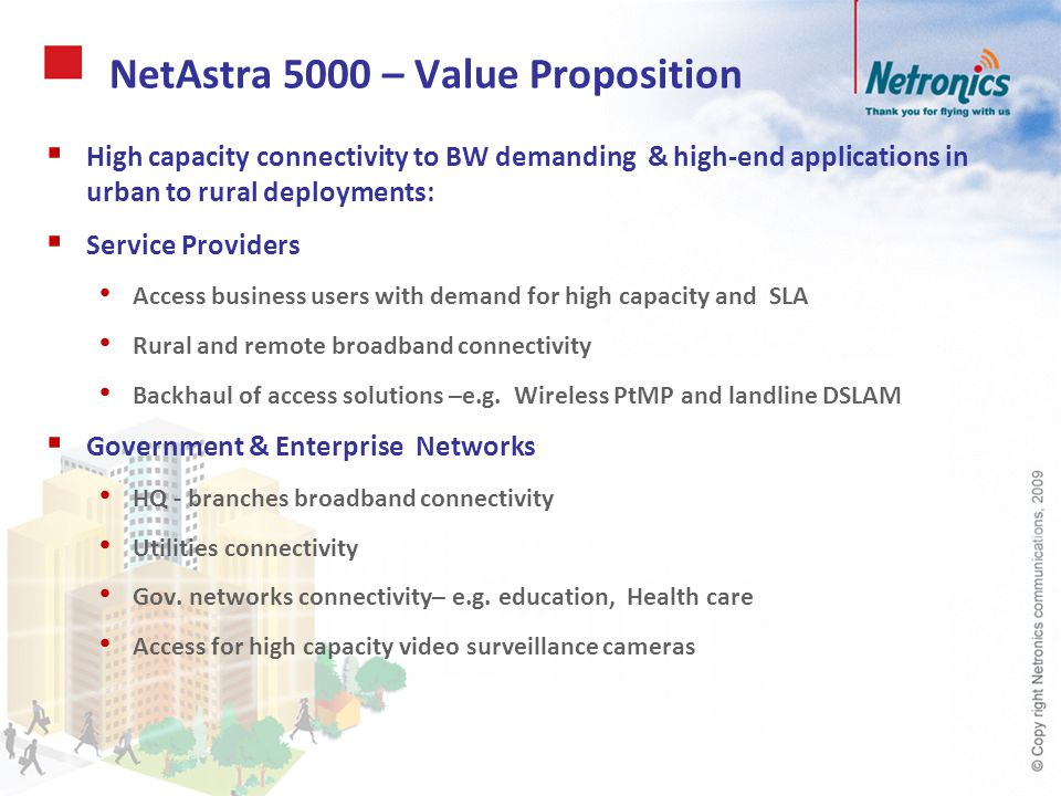 NetAstra 5000 – Value Proposition