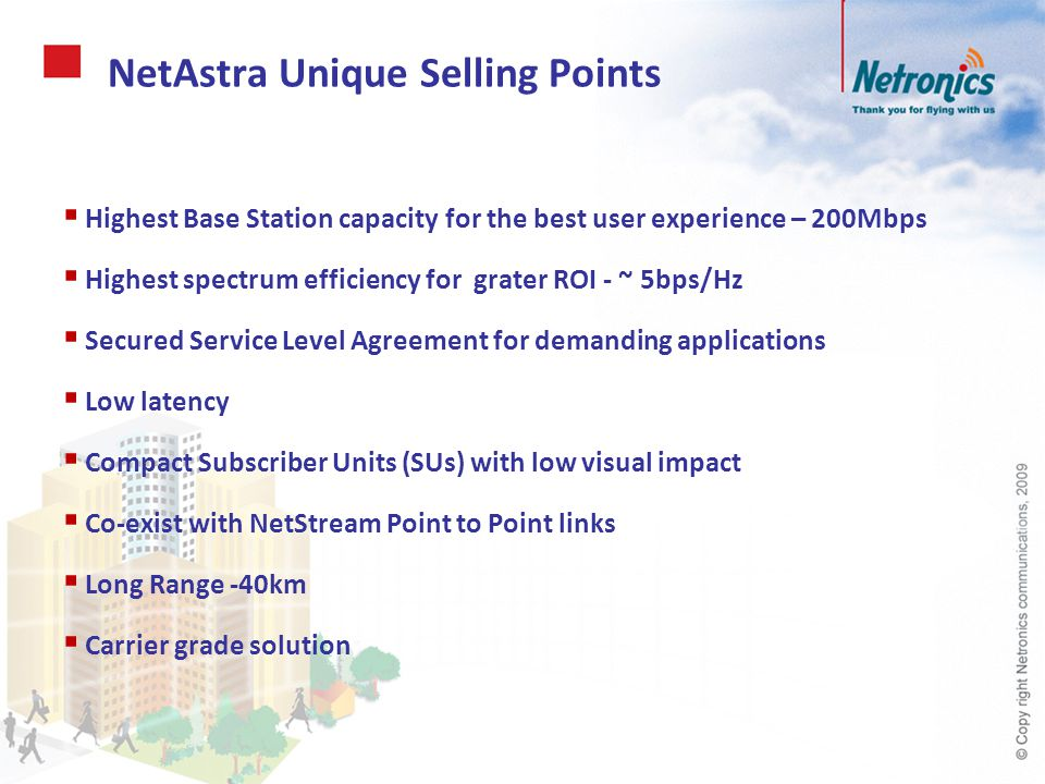NetAstra Unique Selling Points
