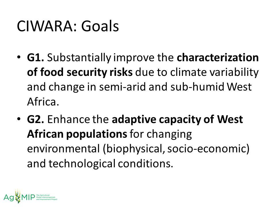 CIWARA: Goals