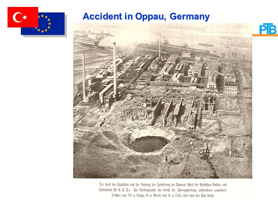 Accident in Oppau, Germany