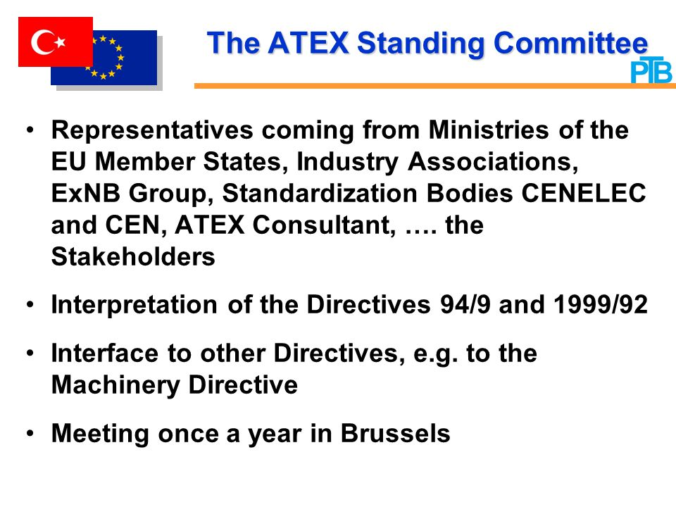 The ATEX Standing Committee