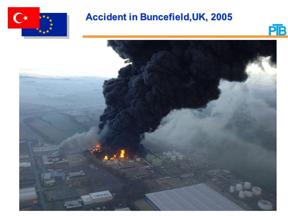 Accident in Buncefield'UK, 2005