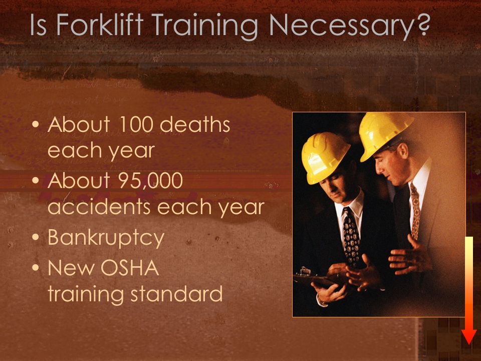 Is Forklift Training Necessary