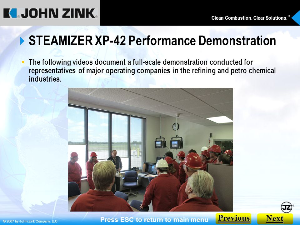STEAMIZER XP-42 Performance Demonstration