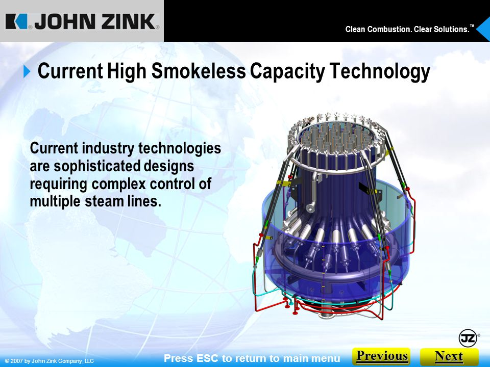 Current High Smokeless Capacity Technology