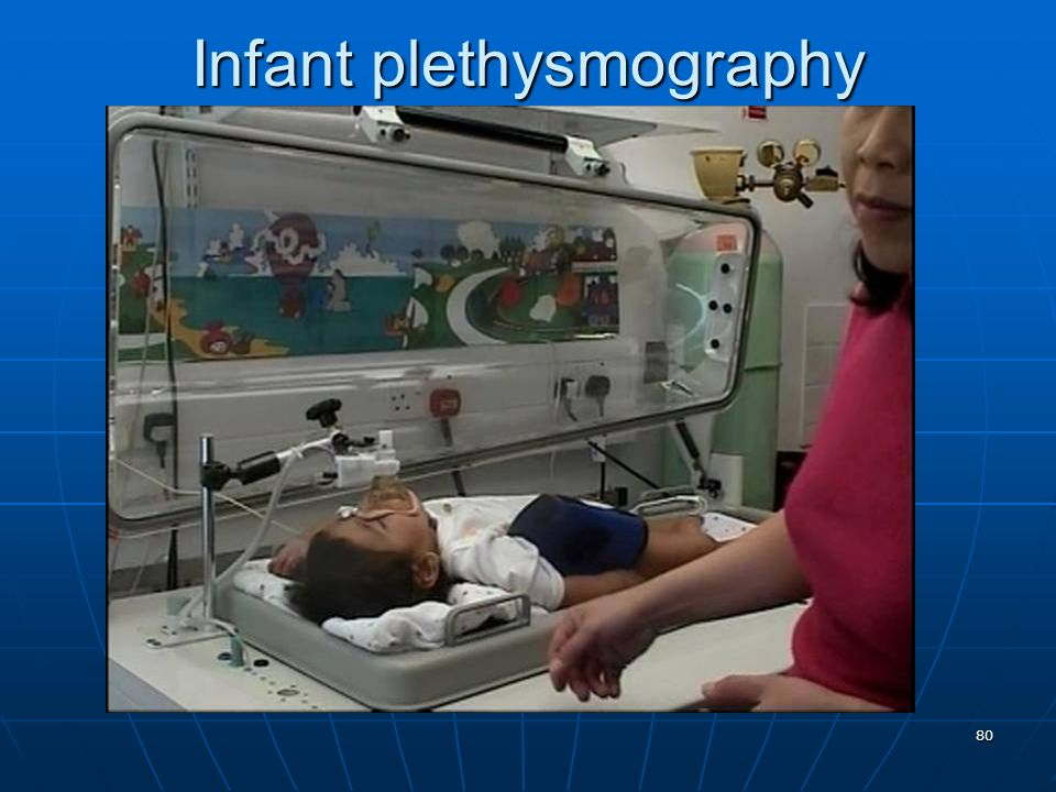 Infant plethysmography