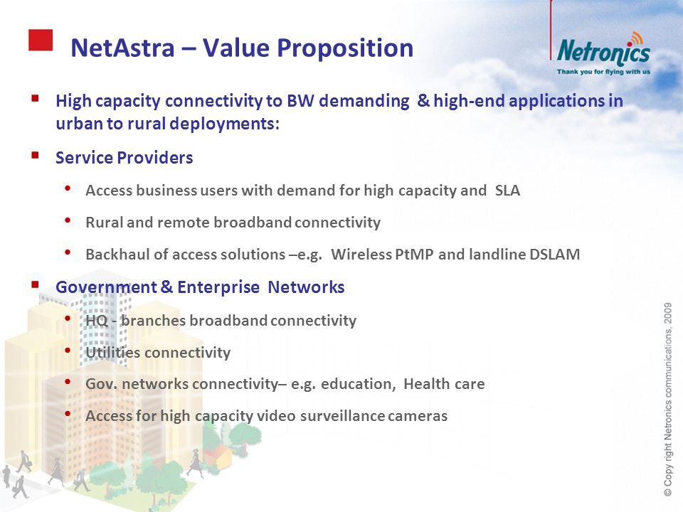 NetAstra – Value Proposition