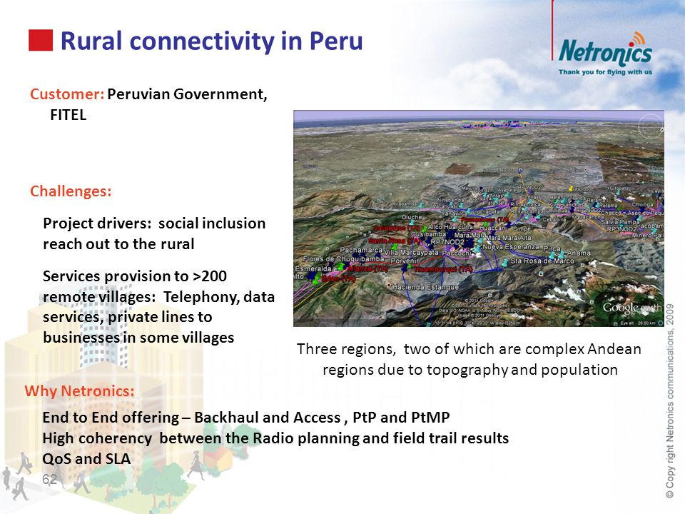 Rural connectivity in Peru