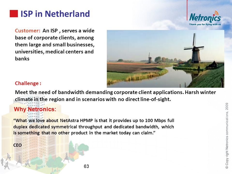 ISP in Netherland