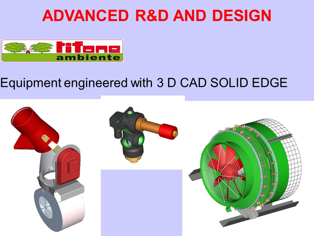 ADVANCED R&D AND DESIGN